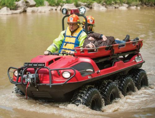 Isporuka amfibijskog vozila Argo za DUZS