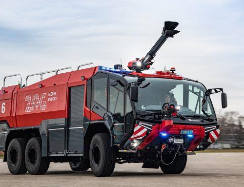 Isporuka Rosenbauer ARFF vozila za MZLZ