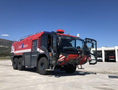 Isporuka Rosenbauer aerodromskog vatrogasnog vozila